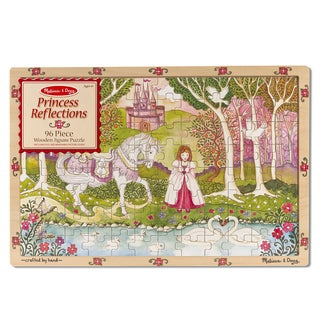 Melissa & Doug Princess Reflections Wooden Jigsaw Puzzle (96-Piece)