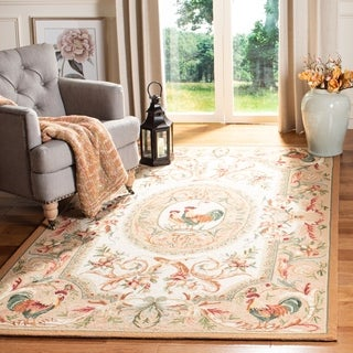 Safavieh Hand-hooked Chelsea Taupe Wool Rug (8'9 x 11'9)