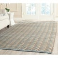 Safavieh Handwoven Cape Cod Gray Braided Jute Rug (5' x 8')