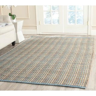 Safavieh Handwoven Cape Cod Grey Jute Area Rug (8' x 10')