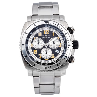 Invicta Men's Stainless Steel 'Specialty' Quartz Link Watch