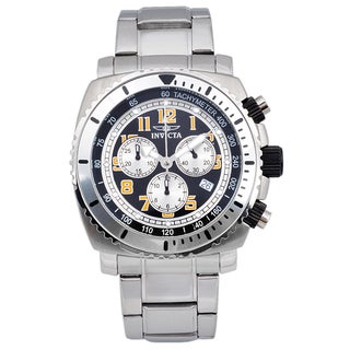 Invicta Men's 0616 Stainless Steel 'Specialty' Quartz Link Watch