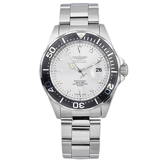 Invicta Men's IN-14971 Stainless Steel 'Pro Diver' Quartz Watch with Metal Dial
