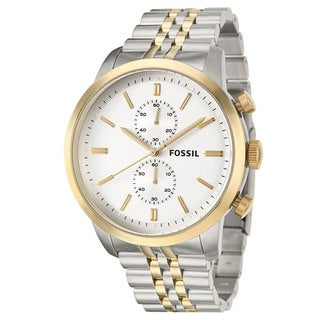 Fossil Men's 'Townsman' Stainless Steel Chronograph Watch