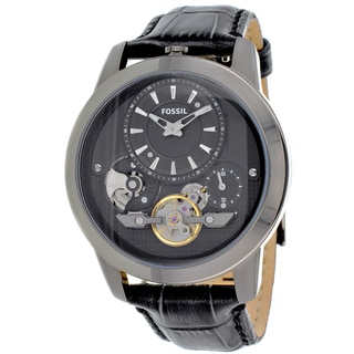 Fossil Men's 'Grant Twist' Stainless Steel Quartz Watch