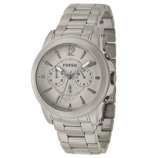 Fossil Men's 'Grant' Ceramic Chronograph Military Time Watch
