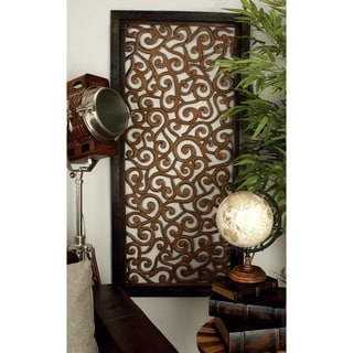 Elegant Wall Sculpture Wood Wall Panel