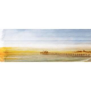 Parvez Taj 'Malibu Pier' Canvas Print