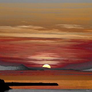 Parvez Taj 'Mykonos' Canvas Print