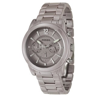 Fossil Women's 'Grant' Ceramic Chronograph Military Time Watch