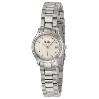 Fossil Women's 'Archival' Stainless Steel Japanese Quartz Watch
