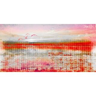Parvez Taj 'Dock Birds' Canvas Print