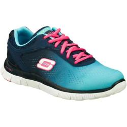Women's Skechers Flex Appeal Style Icon Navy/Blue