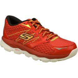 Men's Skechers GOrun Ultra Red/Lime