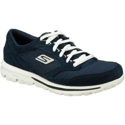 Women's Skechers GOwalk Action Navy/White