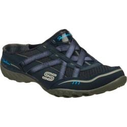 Women's Skechers Relaxed Fit Breathe Easy Go Getter Navy/Gray