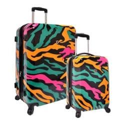Traveler's Choice Colorful Camouflage 2-Piece Hardside Expandable Luggage Set