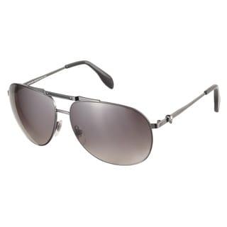Alexander McQueen AMQ4210S KJ1 HA Dark Ruthenium 61 Sunglasses
