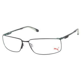 Puma PU15271 Vinicius Green Prescription Eyeglasses