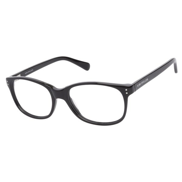 Kam Dhillon 3042 Black Prescription Eyeglasses