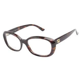 Gucci GG3606 TVD Havana Prescription Eyeglasses