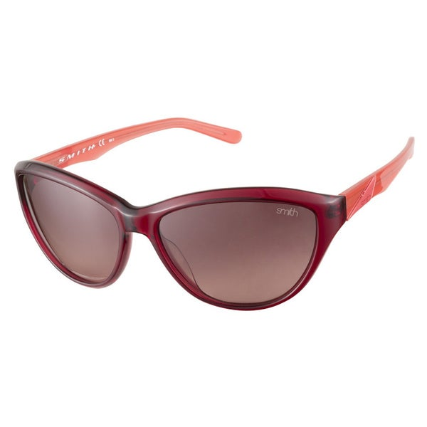 Smith Cypress AL4DZ Transparent Red Lobster Sunglasses