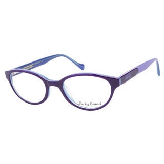 Lucky Viola Purple Blue Prescription Eyeglasses