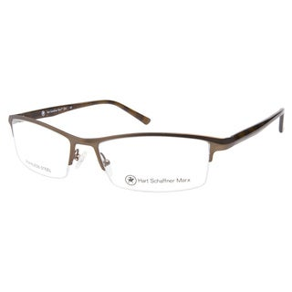 Hart Schaffner Marx HSM824 Brown Prescription Eyeglasses