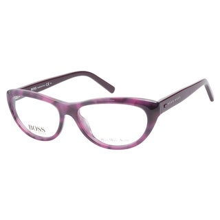 Hugo Boss HB0470 SUZ Havana Pink Plum Prescription Eyeglasses