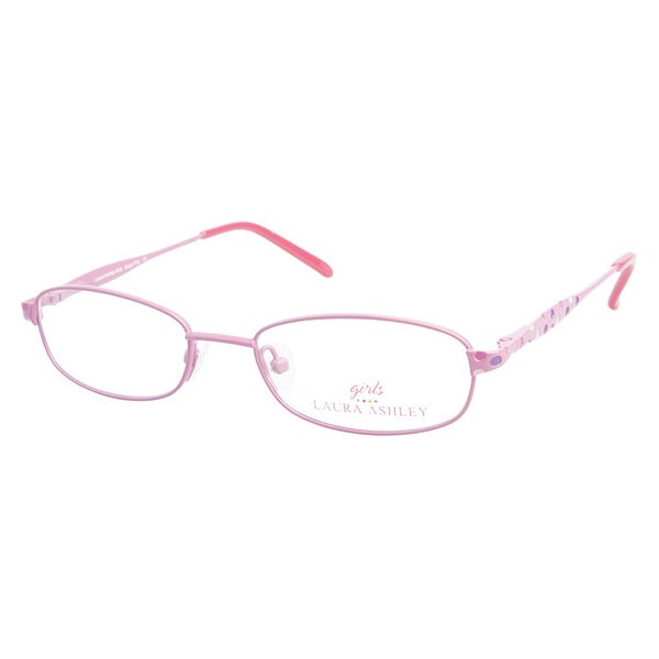 Laura Ashley Girls Sugar Pop Pink Prescription Eyeglasses