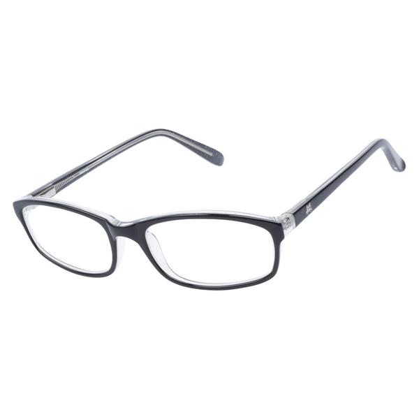 Zooventure 8002 Jet Black Prescription Eyeglasses