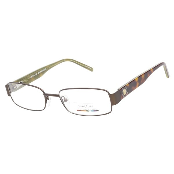 Colours by Alexander Julian Batiste Brown Olive Prescription Eyeglasses