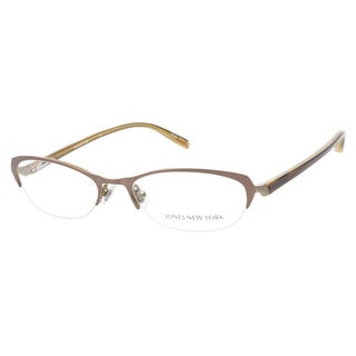 Jones New York J451 Brown Prescription Eyeglasses