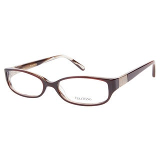 Vera Wang V057 Brown Prescription Eyeglasses