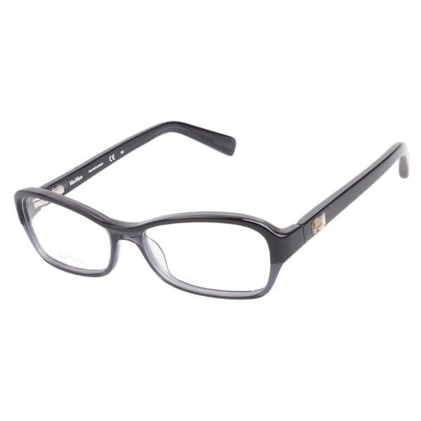 MaxMara MM1140 0H3 Black Grey Prescription Eyeglasses