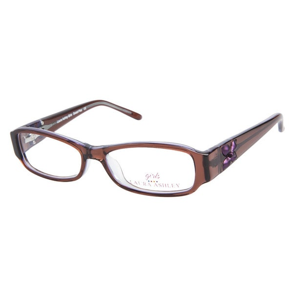 Laura Ashley Girls Sweet Pea Brown Sugar Prescription Eyeglasses