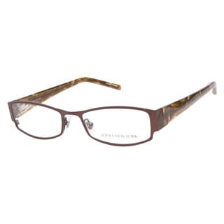 Jones New York J452 Brown Prescription Eyeglasses