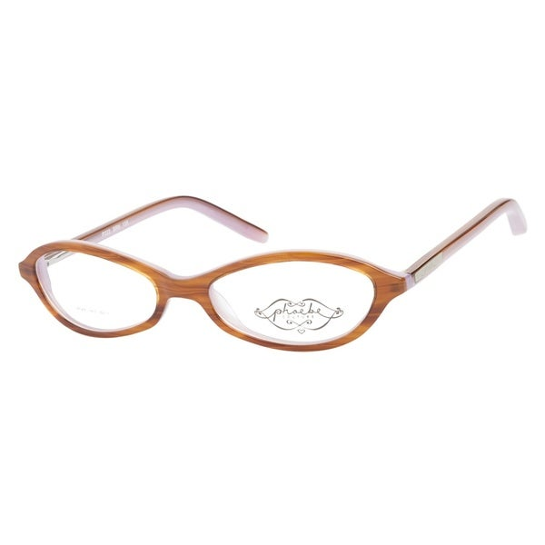 Phoebe Couture P223 Brown Prescription Eyeglasses