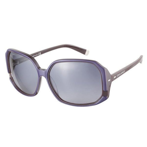 DSquared DQ0052 83B Purple Brown 61 Sunglasses