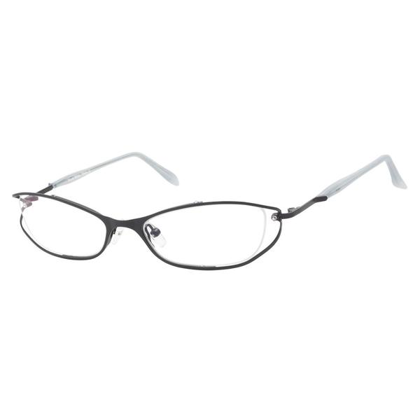 Nicole Miller Chintz Baby Black Prescription Eyeglasses