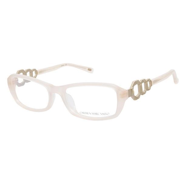 Carmen Marc Valvo Jacqui Champagne Prescription Eyeglasses