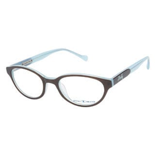 Lucky Viola Brown Blue Prescription Eyeglasses