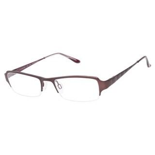 Charmant Titanium CH10888 Wine Prescription Eyeglasses