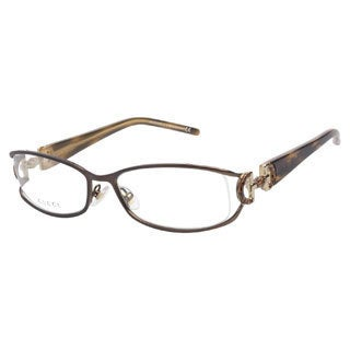 Gucci GG2852 N20 Brown Beige Prescription Eyeglasses