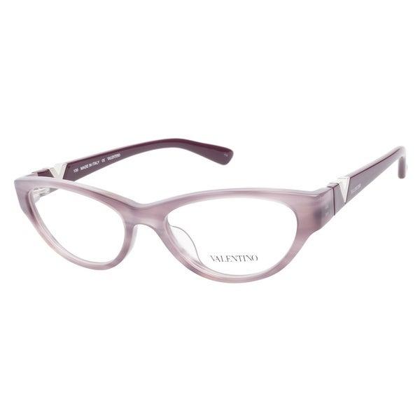 Valentino V2613 532 Striped Mauve Prescription Eyeglasses