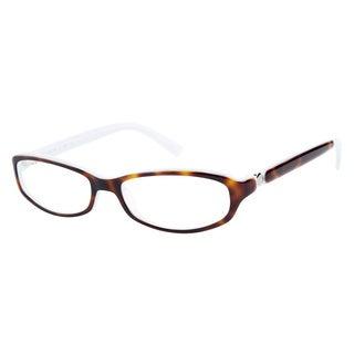 Calvin Klein CK5596 315 Havana Aqua Prescription Eyeglasses