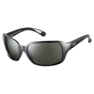 Ray-Ban RB4068 601 Glossy Black 60 Sunglasses
