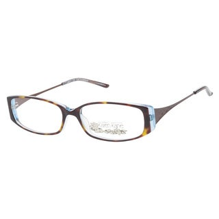 Karen Kane Manchineel Tortoise Blue Prescription Eyeglasses