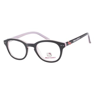 Hello Kitty HK219 2 Black Pink Prescription Eyeglasses