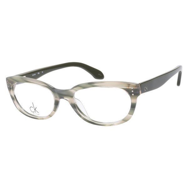Calvin Klein CK5728 746 Marble Green Prescription Eyeglasses